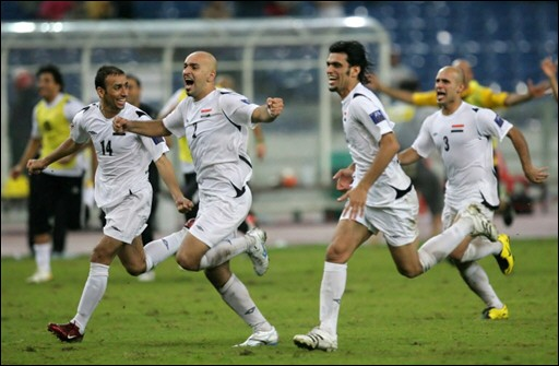 Image result for iraq south korea asian cup 2007
