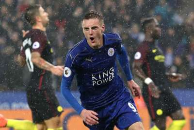 Hattrick Vardy Bawa Leicester Bungkam City