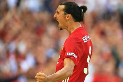 Zlatan header helped to win Manchester United FA Community Shield