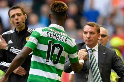 Moussa Dembele the hero as Celtic put five past Rangers