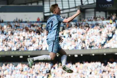 De Bruyne Magnificent As Manchester City Maintain 100 Per Cent Record