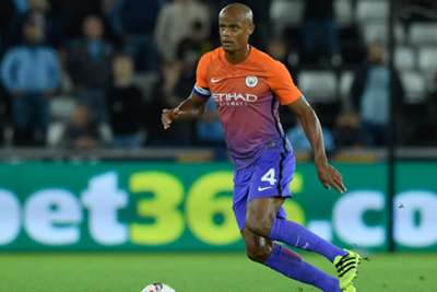 Manchester City captain Vincent Kompany sidelined with groin injury