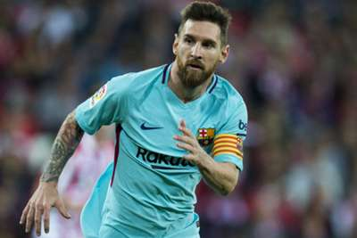 Barcelona's Lionel Messi receives fourth Golden Shoe as Europe's top scorer