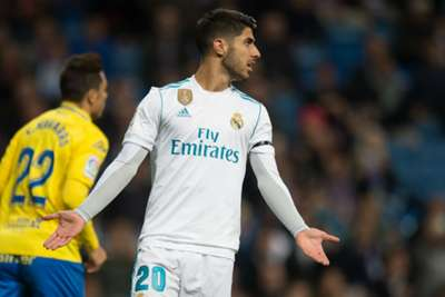 Marco Asensio fires in absolute rocket for Real Madrid against Las Palmas