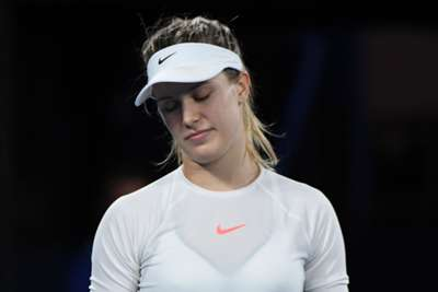 Tennis player Genie Bouchard learned her lesson after betting against Tom Brady