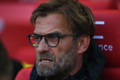 Liverpool's ambitions still big, but no points target, says Juergen Klopp