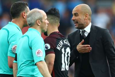 Manchester City boss Pep Guardiola plays down missed opportunity against Arsenal