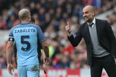 City eye top four boost to mark Zabaleta farewell