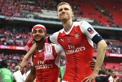 Doubters fire Mertesacker to FA Cup flourish