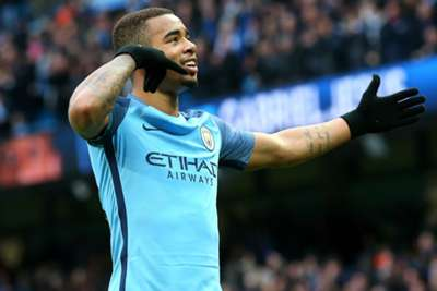Manchester City's Gabriel Jesus says no surgery needed on fractured eye socket