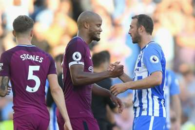 Man City without injured duo for Brighton trip
