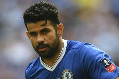 Conte laughs off Costa comments, says striker is 'the past'