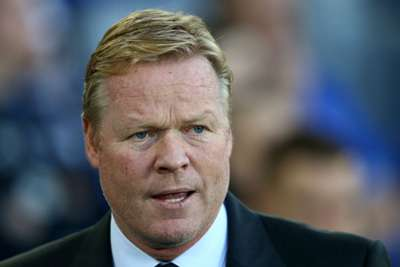 Koeman grateful for Everton's short Europa League trips