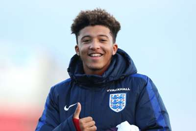 Manchester United monitoring frustrated Manchester City youngster Jadon Sancho