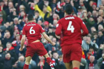 b780d69a3e2 Dejan Lovren insists Liverpool are not feeling under to win the Premier  League title, despite their six-point lead at the top.