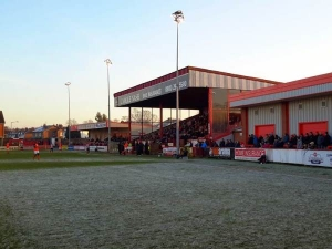 The J. Davidson Stadium, Altrincham, Cheshire