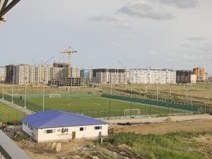 Anzhi Sports Complex pole 3