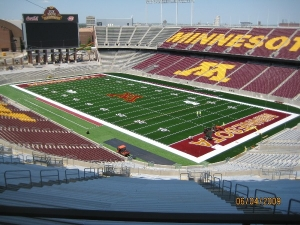 TCF Bank Stadium, Minneapolis, Minnesota