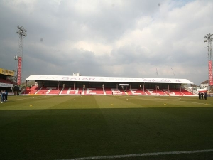 Griffin Park, Brentford, Middlesex