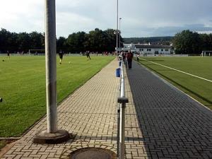 Stadion in den Lahnauen