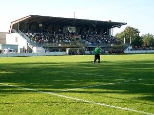 Futbalový štadión na Levickej ulici, Vráble