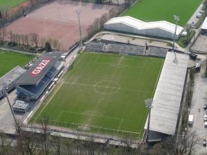 GAZİ-Stadion auf der Waldau