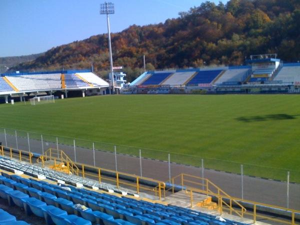 Stadionul Jean Pădureanu, Bistriţa