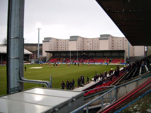 The Energy Check Stadium, Glasgow