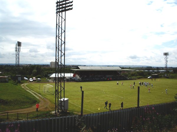 Cliftonhill Stadium, Coatbridge