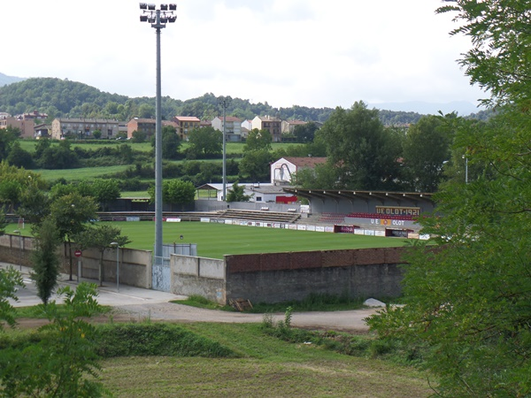 Camp Municipal d'Olot, Olot