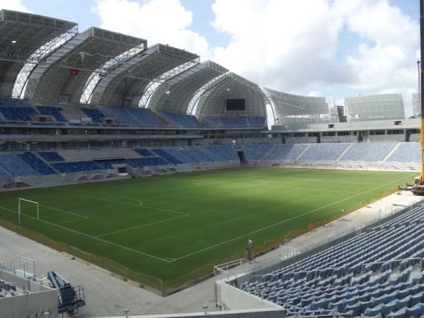 Arena das Dunas, Natal, Rio Grande do Norte