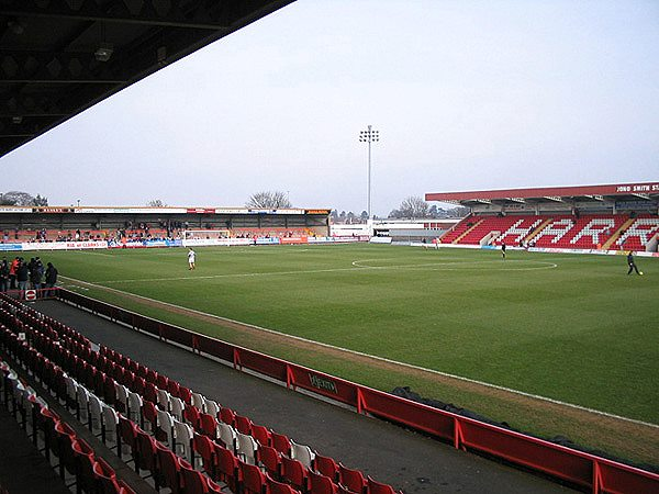 Aggborough Stadium, Kidderminster, Worcestershire