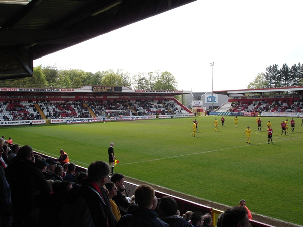 The Lamex Stadium, Stevenage, Hertfordshire