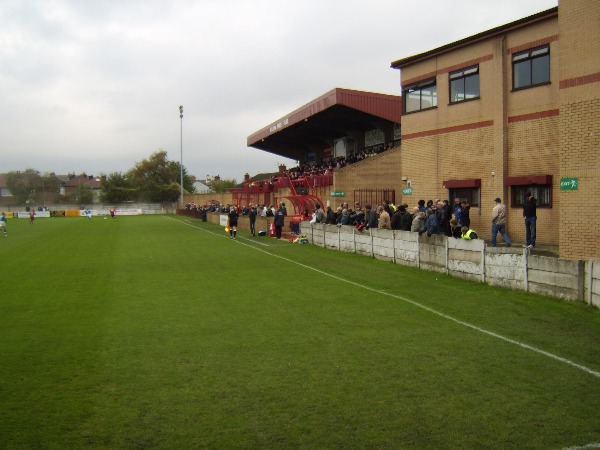 Butcher's Arms Ground, Droylsden, Greater Manchester