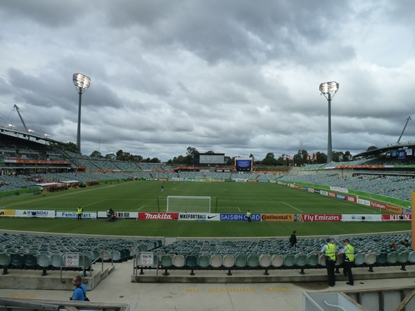 GIO Stadium Canberra , Canberra