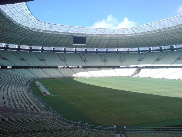 Estádio Governador Plácido Aderaldo Castelo, Fortaleza, Ceará
