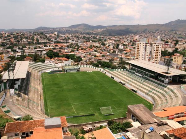 Estádio Raimundo Sampaio (old), Belo Horizonte, Minas Gerais