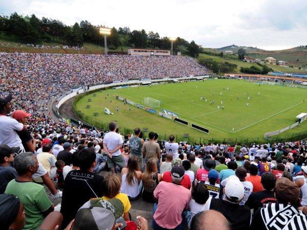 Estádio Municipal Radialista Mário Helênio, Juiz de Fora, Minas Gerais