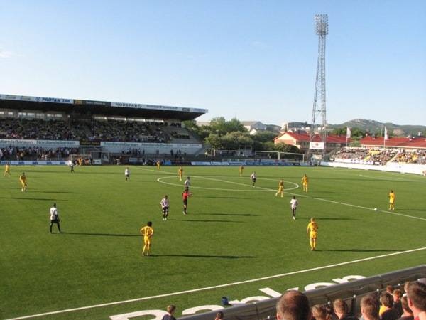 Aspmyra Stadion, Bodø