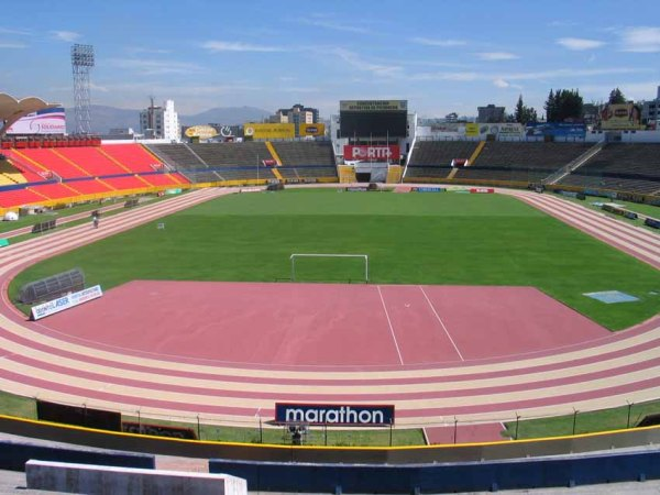 Estadio Olímpico Atahualpa, Quito