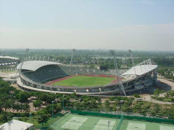 Thamasat University Stadium, Bangkok