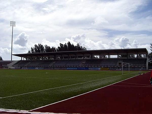 Stade Linité, Roche Caïman (Mahé)