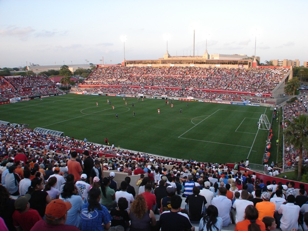 John O'Quinn Field at Corbin J. Robertson Stadium, Houston, Texas