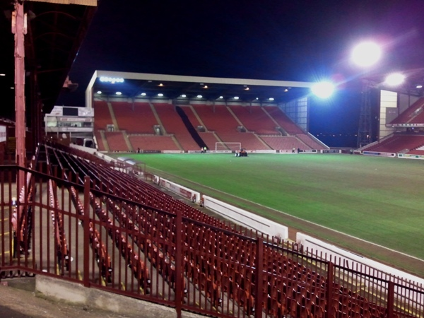 Oakwell Stadium, Barnsley, South Yorkshire