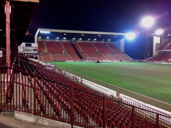 Oakwell Stadium, Barnsley, South Yorkshire