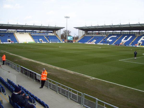 Weston Homes Community Stadium, Colchester, Essex