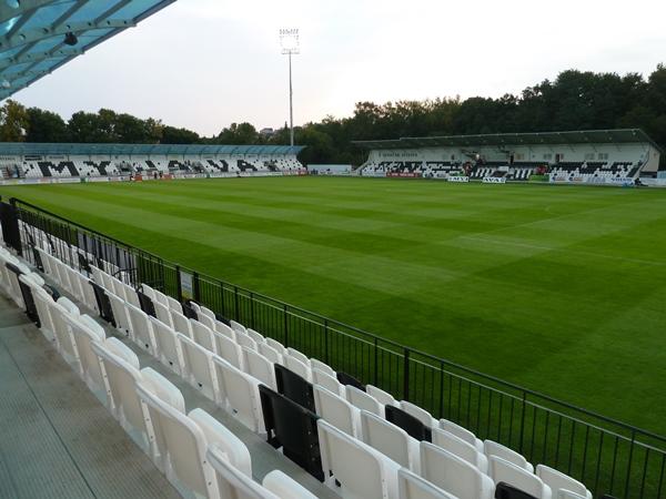 Futbalový štadión Spartak Myjava, Myjava