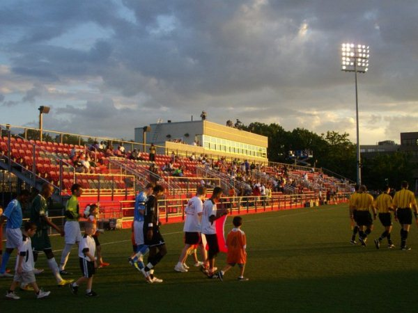 Belson Stadium at St John's University, Queens, New York