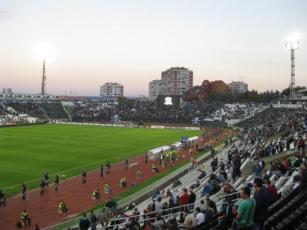 Stadion Partizana, Beograd
