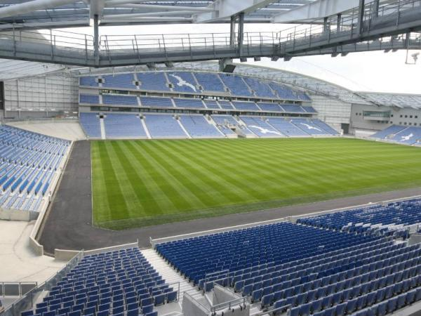 The American Express Community Stadium, Brighton, East Sussex